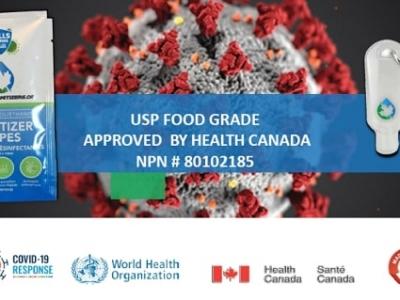 Canada Sanitizers - USP Food Grade